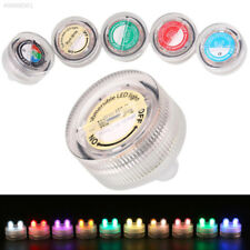 3D88 2LED Mini Submersible Waterproof Underwater Candle Light Party Supplies