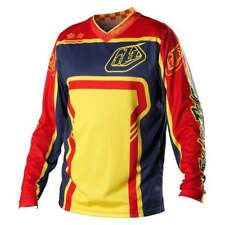 Troy Lee Adulti Gp Motocross Mx Mountain Bike Jersey - Originale Giallo