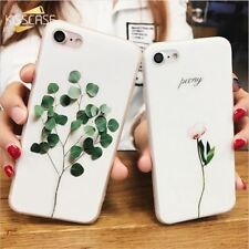 For iPhone 6s 6 Case Cool 3D Relief Plant Cases For iPhone 5s 5 SE X 7