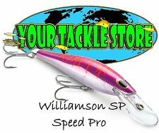 Williamson SP180D Velocidad pro Intenso You Pick Color & Cantidad Nip Agua