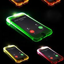 Soft TPU LED Flash Light Up Remind Incoming Call Cover For Samsung Galaxy J1 J3