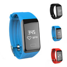 B3 Smart Band Watch Bluetooth Heart Rate Monitor Activity Tracker Fitness New