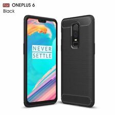 OnePlus 6 Case Soft Silicon Case TPU Cover Carbon Fiber Case For OnePlus 6 Phone