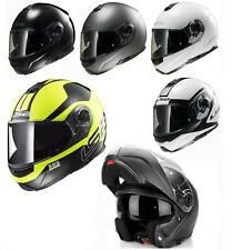 LS2 FF325 STROBE CIVIK ZONE FULLFACE FLIP FRONT MOTORCYCLE HELMET WITH BLUETOOTH