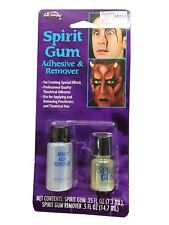 Adults Spirit Gum and Remover Make Up Set Unisex Fancy Halloween Party Accessory