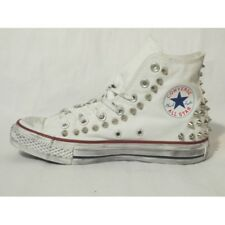 Converse All Star Houston [Prodotto Customizzato] Scarpe Borchiate ORIGINALI 100