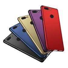 For OnePlus5 Case OnePlus 5 Case Cover Matte Hard One Plus 6 5 5T A5000 Thin Bac
