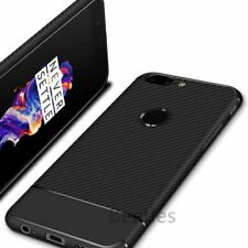 Soft Silicone 360 Full Cover Case for Oneplus 5t Carbon Fiber Case Shockproof An