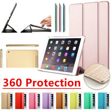 Smart Magnetic Leather Stand Case Cover for Apple iPad 2 3 4 Air Mini Pro 2018