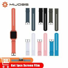 20mm Silicone Wrist Watch Band Strap for Xiaomi Huami Amazfit Bip BIT PACE Lite