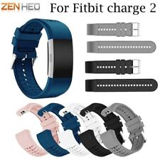 Wristband Wrist Strap Smart Watch Band Strap for Fitbit Charge 2 Soft Silicone R