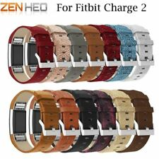 Leather Strap For Fitbit Charge 2 Bracelet Replacement Band For Fitbit Charge 2