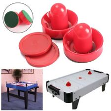 Mini Air Hockey 60/76/96mm 2 Pusher Goalies 4 Pucks Felt Set for Game Tables  SP