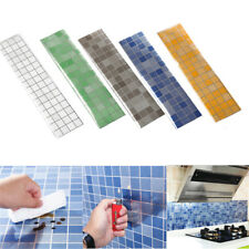 Kitchen Self-adhesive Wall Sticker Waterproof Foil Stickers Anti-oil Wrap UK
