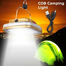 LED Solar Lantern USB Rechargeable Camping Tent Light Outdoor Fishing Lamp a@