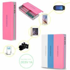 15000mAh DIY USB Power Bank 5x18650 Battery Charger Box Case Holder For Phone a@