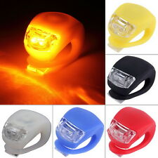 LED Bicycle Bike Cycling Cycle Flash Front Rear Wheel Safety Light Lamp a@