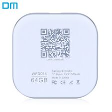 DM S3 WFD015 64GB Wireless WiFi Phone U Disk Expansion for iPhone iPad iOS /