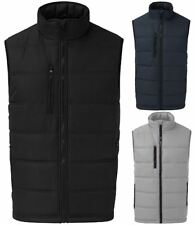 Mens Sleeveless Multi Pocket Quilted Fortress Waistcoat Winter Wear Zip Up Vest