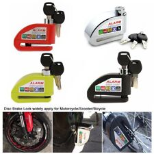 Universal Motorcycle Scooter Bicycle Alarm Disc Lock Anti-theft with 3 Keys FN