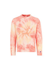 CHAMPION - Tie-dye cotton-blend sweatshirt - orange 211888 PSM