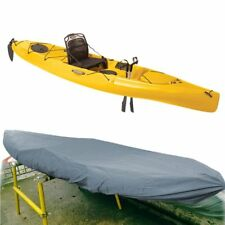 Universal Waterproof Kayak Cover UV Protection Boat Canoe Dust Cover Protector E