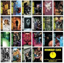 DOOMSDAY CLOCK miniseries - Geoff John & Gary Frank - NM - DC Comics