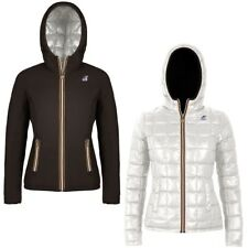 K-WAY LILY THERMO PLUS DOUBLE giacca donna imbottita KWAY reverse Aut/Inv A34ehe