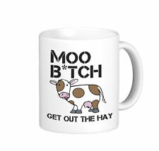 Mu B Tch Get Out The Way Hilarante Broma Animal Lover Amigo Taza Regalo