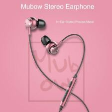 Stereo Earphone With Mic In-Ear Headset Earbuds For Xiaomi 3.5mm Aux Noise Cance