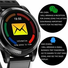 Smart Watch Multi-Functional Heart Rate Monitor Water Resistance Pedometer DS