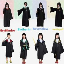 Harry Potter Gryffindor Slytherin Hufflepuff Ravenclaw Style Cape Cosplay