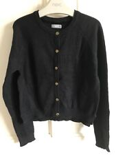 BNWOT Next Cardigan. Girls. Black. Age 7 Years. Lightweight - Soft