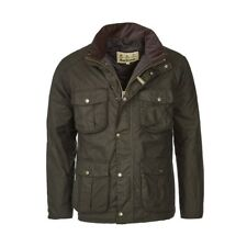 Barbour Winter Utility Wax Jacket in Olive