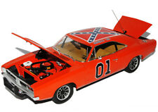 Dodge Charger 1969 Dukes of Hazzard General Lee Orange High Quality 1/18 Green..