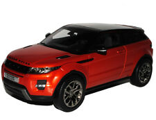 Land Rover Range Rover Evoque 3 Türer Orange Schwarz Ab 2011 1/18 GTA Welly Mo..