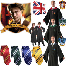 Hermione Granger Gryffindor Robe Harri Potter Cape Cloak WithTie Cosplay Costume
