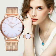 Women's Casual Alloy Quartz Mesh Band Watch Analog Wrist Watch Business Watches