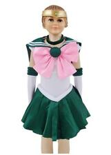 DAZCOS Kids Size Girls Sailor Jupiter Cosplay Dress Kino Makoto Costume