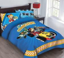 Disney Mickey Mouse Speed Roadster Licensed Full Comforter Set w/Fitted Sheet