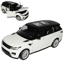 Land Rover Range Rover Sport 2. Generation Weiss Ab 2013 1/24 Welly Modell Aut..