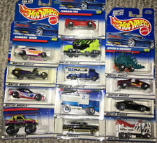 HOT WHEELS COLLECTOR SERIES (1998)    BIN 70  A, B, C, D, E, F, G  BIN 21 K