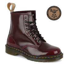 Dr. Martens Vegetariano 1460 Botas Mujer Cherry Red Vegan Doc Martens Boots