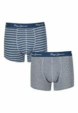 New Designer Mens Pepe Jeans Boxer Trunk Shorts Lucian Gift Set