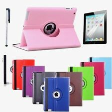 Smart Stand Leather 360 Degree Rotate Case Cover For APPLE iPad