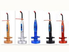 5 Colors 1500mw Dental Wireless Cordless LED Cure Curing Light Lamp Tool