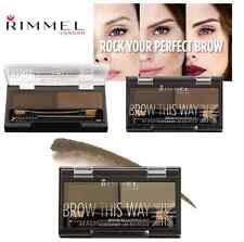 Rimmel Brow This Way Sculpting Kit Choose Shade Below Carded