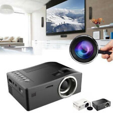 Completo 1080P 48LUX Cine en Casa Led Mini Proyector Multimedia Cine USB Tv HDMI
