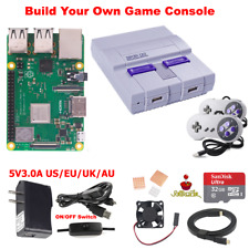 Raspberry Pi 3 B / B+ (B plus) Retro GAME Kit SUPERPI Case-U Retroflag Assemble