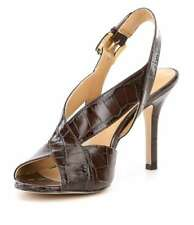 Michael Michael Kors Womens becky Open Toe Special Occasion Slingback Sandals